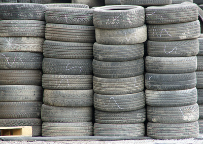 Gebrauchte Auto-Reifen